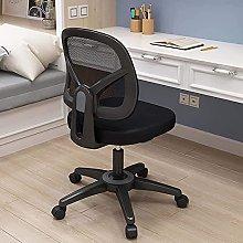 LTHDD Armless Office Chair,Ergonomic Computer Task