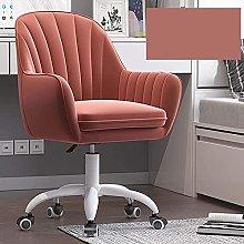 LTHDD Office Chair,Velvet Ergonomic Desk Chair