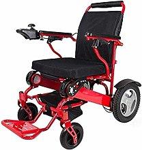 LTHDD Wheelchair Electric Wheelchair Folding