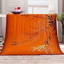 LTKZQF Fleece Blankets Warm Soft Flannel Blanket