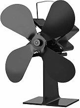 LTLWSH Heat Powered Stove Fan Fireplace Fan for