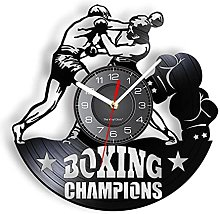 LTMJWTX Boxing Champions Inspired Vinyl Record