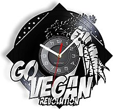 LTMJWTX Go Vegan Revolution Carrot Vinyl Record