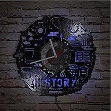 LTMJWTX History Teacher Literature Vinyl Record