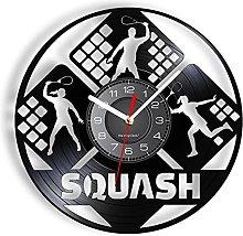 LTMJWTX Squash Vinyl Record Wall Clock For Living