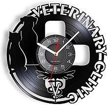 LTMJWTX Veterinary Clinic Symbol Vinyl Music