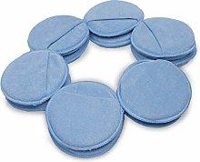 LTWHOME Blue Microfiber Wax Polish Applicator