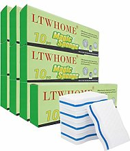 LTWHOME Kitchen & Dish Scrubber Dual Sided