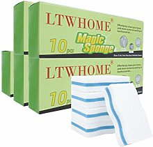 LTWHOME Magic Cleaning Dual Sided Wave Type Sponge