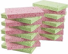 LTWHOME Natural Cellulose Dish Cleaning Scrub Pad