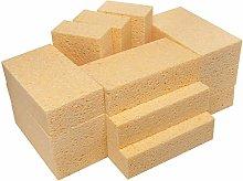 LTWHOME Natural Cellulose Non-Scratch Sponges