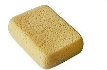 LTWHOME Yellow Large Tile Grout Sponge Cleaning