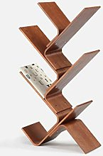 LUAN Bookcase Bookcase Nordic Solid Wood Rack