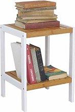 LUAN Bookcase Wood Book Shelf Modern Storage Rack