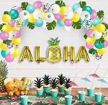 Luau Party Supplies - Hawaiian Decorations Set