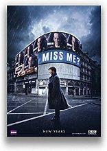lubenwei TV Series Sherlock Movie Canvas Painting