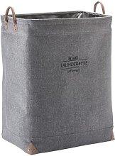 Lubin Laundry Bin Aquanova Colour: Silver Grey