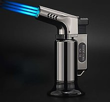 LUBINSKI Cigar Torch Lighter, Windproof Triple