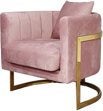 Lubitsch Tub Chair Canora Grey Upholstery Colour: