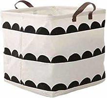 LucaSng Animal Pattern Laundry Hamper Cotton Linen