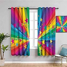 LucaSng Blackout Curtain Thermal Insulated - Color
