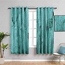 LucaSng Blackout Curtain Thermal Insulated - Green