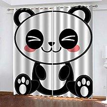Lucasng Cartoons Boys Curtains For Bedroom Panda