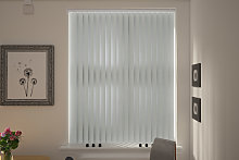 Lucca Silver Replacement Vertical Blind Slats