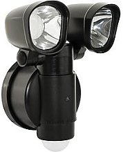 Luceco Solar Twin Security Light 400Lm 4W 5000K