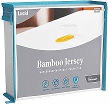 LUCID Premium Rayon from Bamboo Jersey Mattress