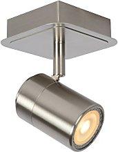 Lucide Ceiling Spotlight, Metal 5 W, Satin Chrome