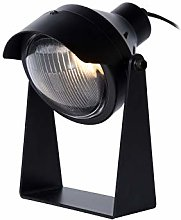Lucide CICLETA - Table lamp - GU10 - Black
