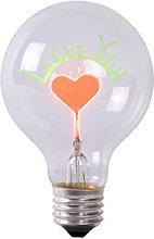 Lucide Led Bulb, E27, 3 W, Transparan