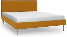 Lucinda Upholstered Bed Frame Fjørde & Co Colour: