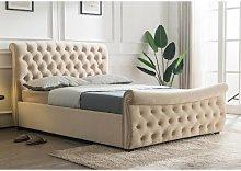 Lucinda Upholstered Ottoman Bed Frame Rosalind