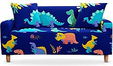 LucklyingBao 3D Pattern Dinosaur Stretch Sofa