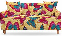 LucklyingBao Stretch Printed Sofa Slipcovers For