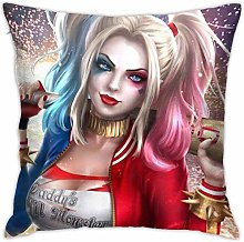 Lucky girlfriend Harley-Quinn Anime Square Throw