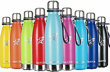 LuckY.Ss Vacuum Flask Stainless Steel Water Bottle