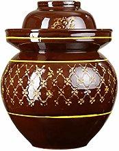 Lucky star Fermenting Jar, Kimchi Jars with Lid