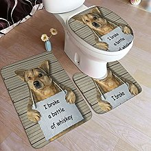 Lucky Stylemarket 3 Piece Bathroom Rug Mats
