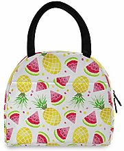 LUCKYEAH Fruit Pineapple Watermelon Lunch Bag for