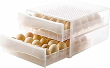Luckyx Plastic Egg Holder With 2 Drawers Trays