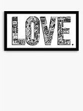 LucyLovesThis - Love London Framed Print & Mount,