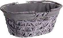 Ludi-Vin GM Oval Basket with Folding Handles
