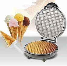 Luermeuk Electric Waffle Maker Machine, Ice Cream