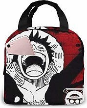 Luffy Cool Lunch Bag Cooler Tote Box with Front