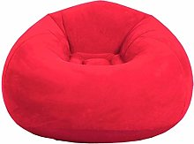 LUGEUK Bean Bag Chair-Folding Flocking Inflatable