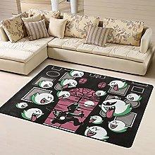 Luigi'S Mansion Area Rug Floor Rugs Living