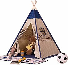 LULUVicky Children's Indian Teepee Tent Play